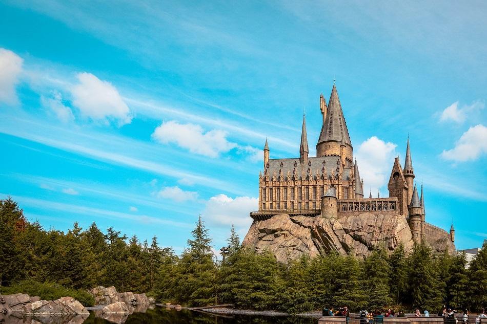Hogwards Castle Universal Studios Japan