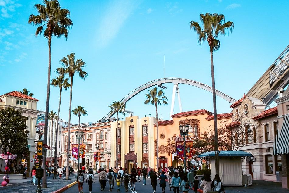 Hollywood Dream Backdrop Universal Studios Japan