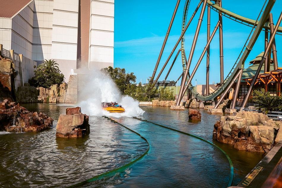 Jurassic Park - The Ride at Universal Studios Japan