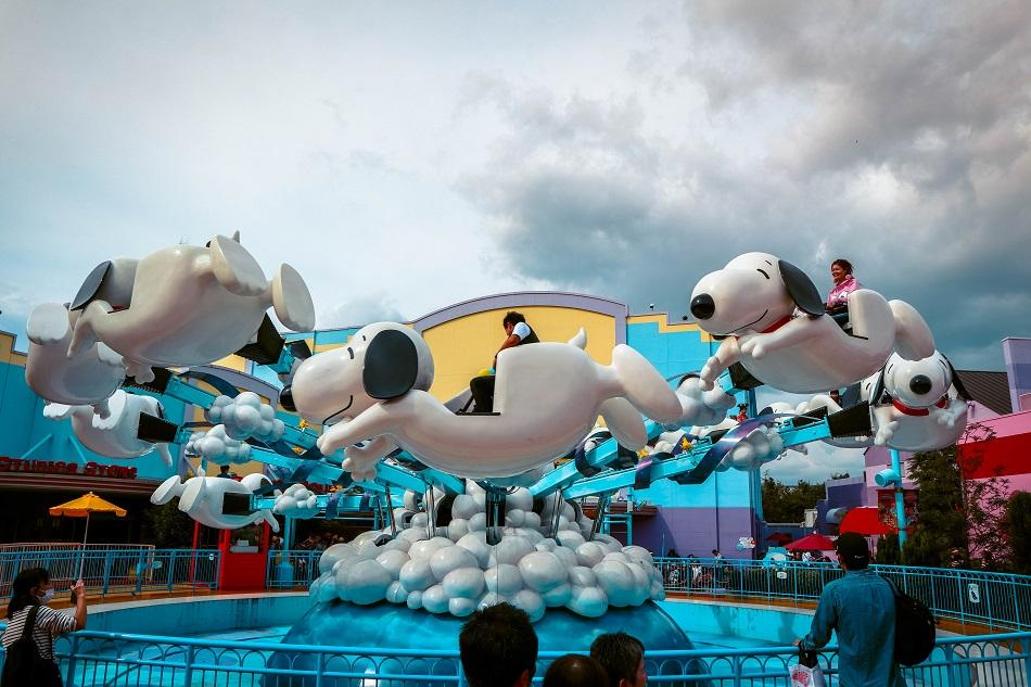 Snoopy Studios at Universal Studios Japan