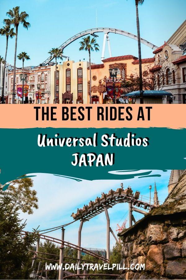 The best rides at Universal Studios Japan