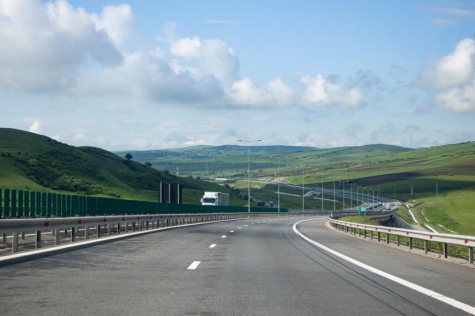 Roads in Romania