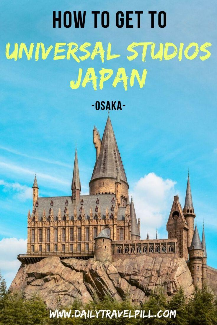 How to get to Universal Studios Japan