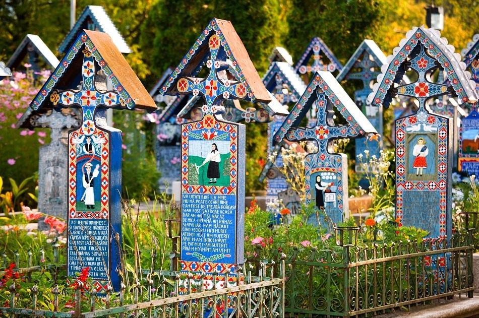 Merry Cemetery, Maramures, Romania