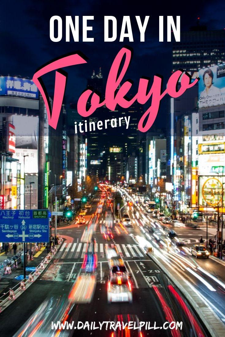 One day in Tokyo - the PERFECT itinerary