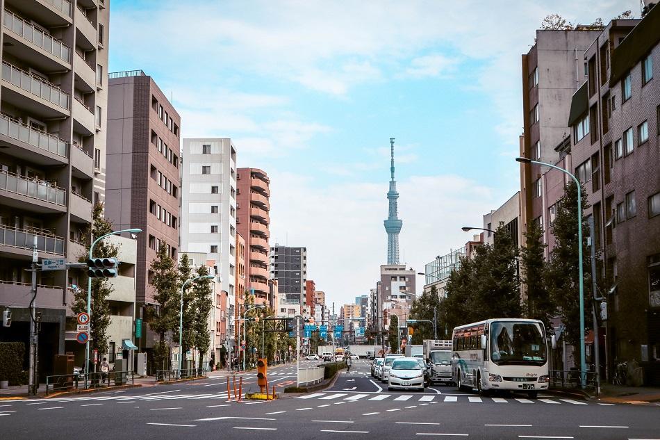 Traffic in Tokyo