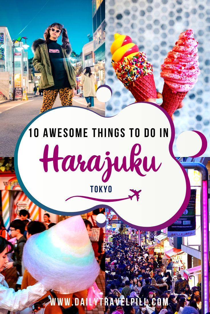 What to do in Harajuku Tokyo - tourist attractions