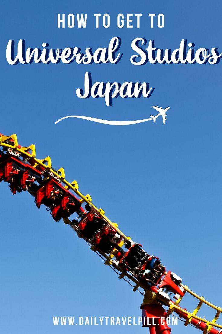 How to get to Universal Studios Japan - transport options