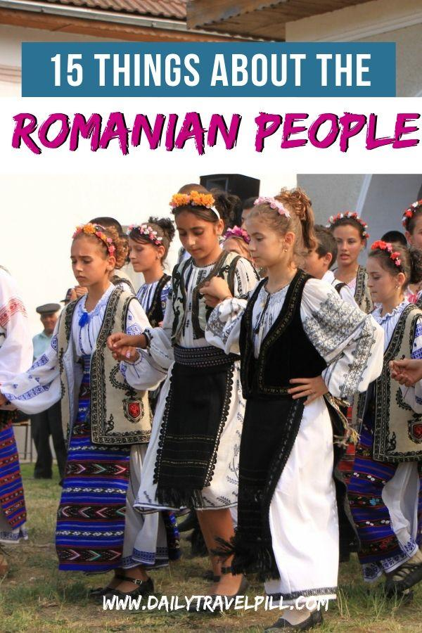 Romanian people traits