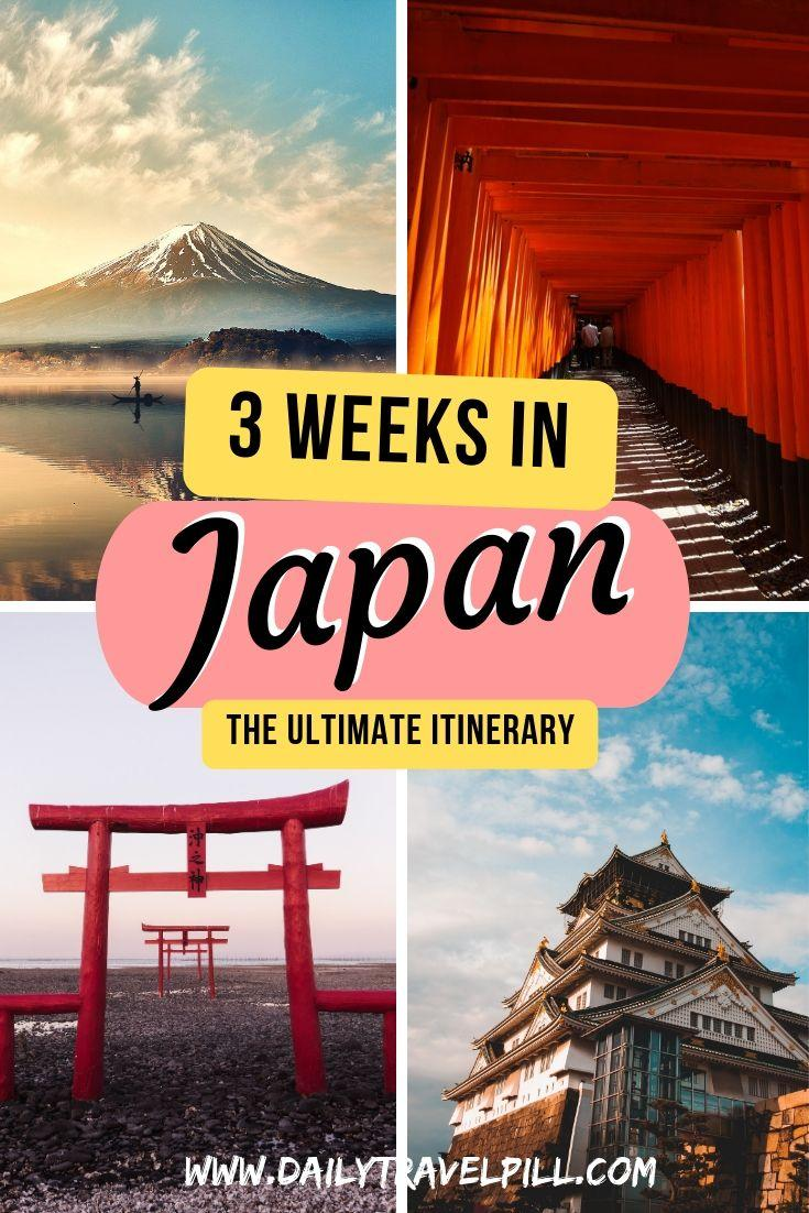 The ultimate 3 week Japan Itinerary