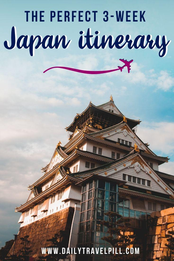 How to spend 3 weeks in Japan - itinerary and budget