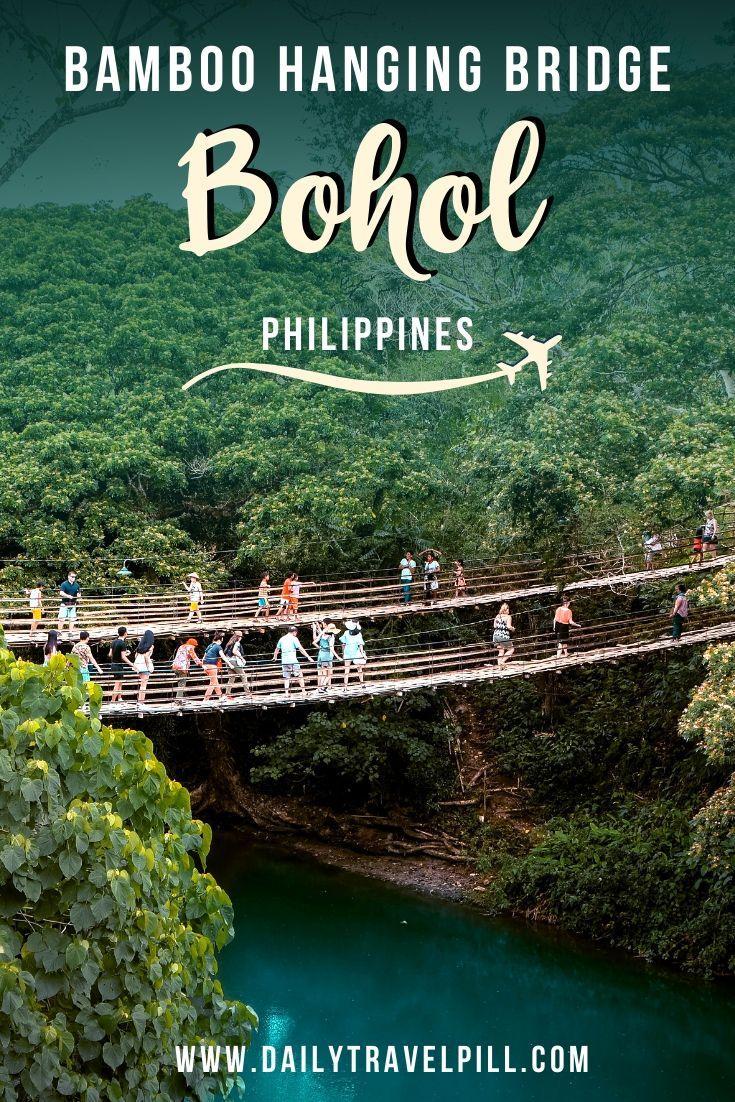 Bamboo Hanging Bridge Bohol