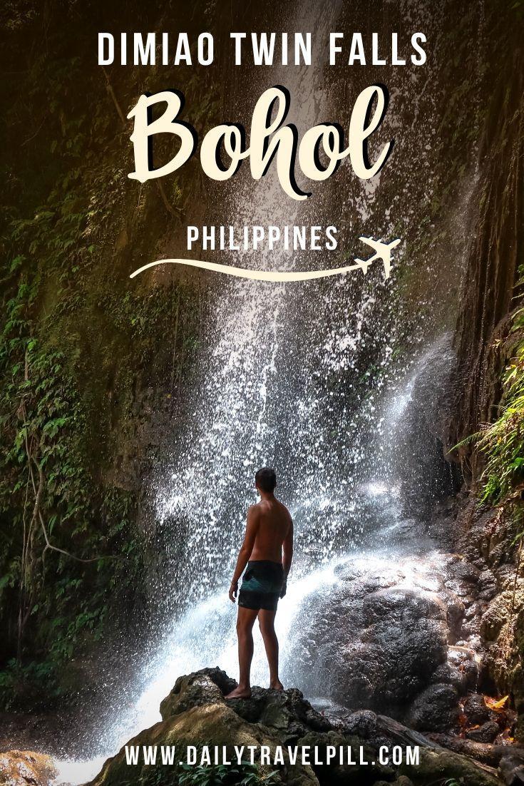 Dimiao Twin Falls Bohol
