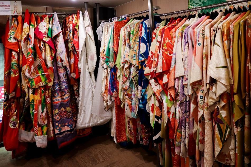 Kimono rental shop Tokyo