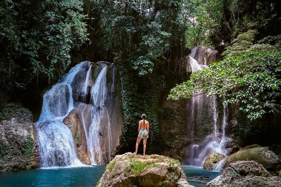 The incredible Road to Dimiao Twin Falls, Bohol