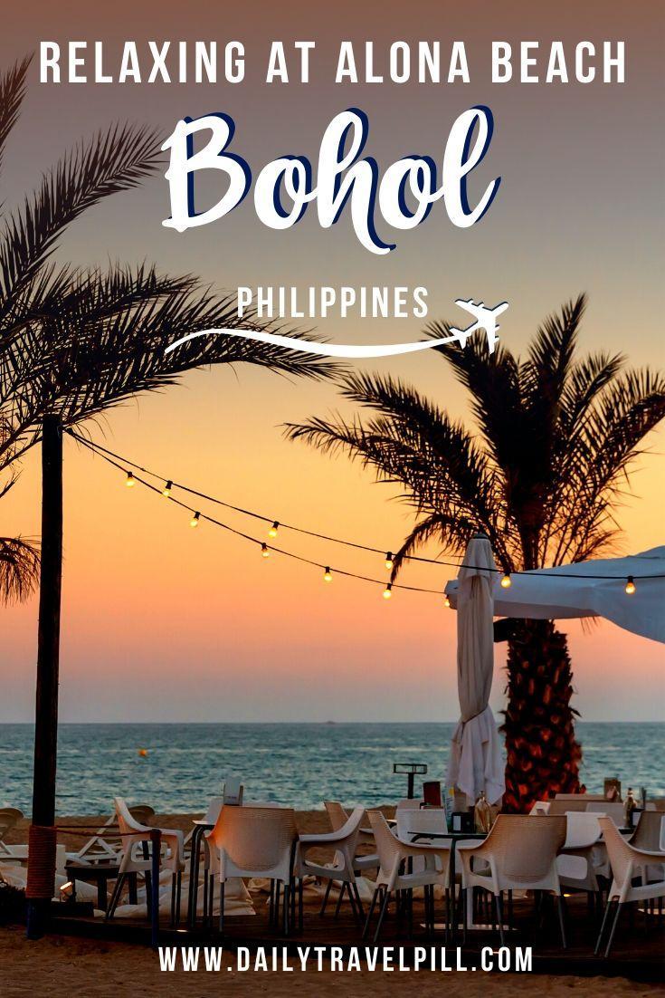 Sunset at Alona Beach Bohol