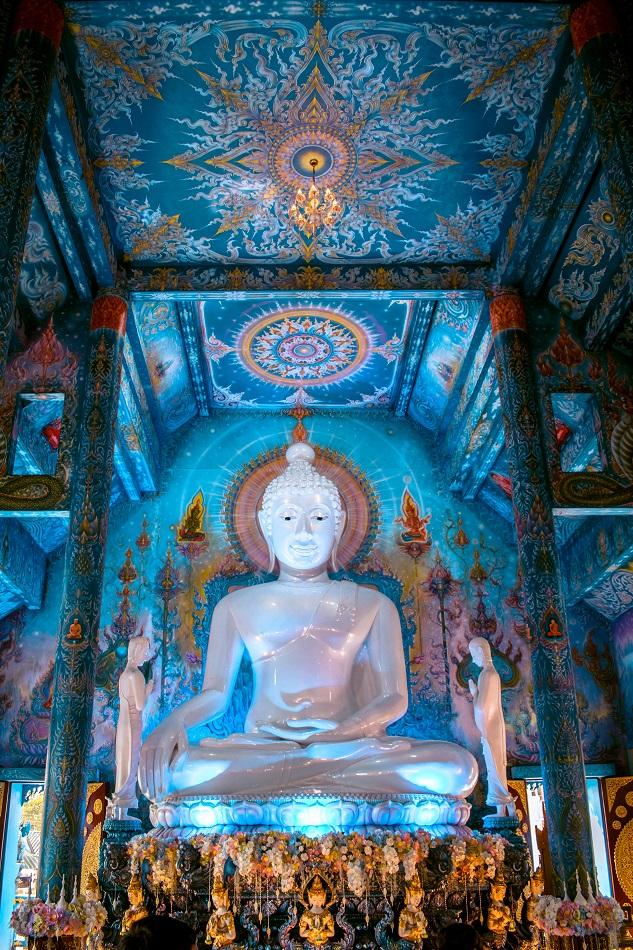 Main Hall of Blue Temple, Chiang Rai