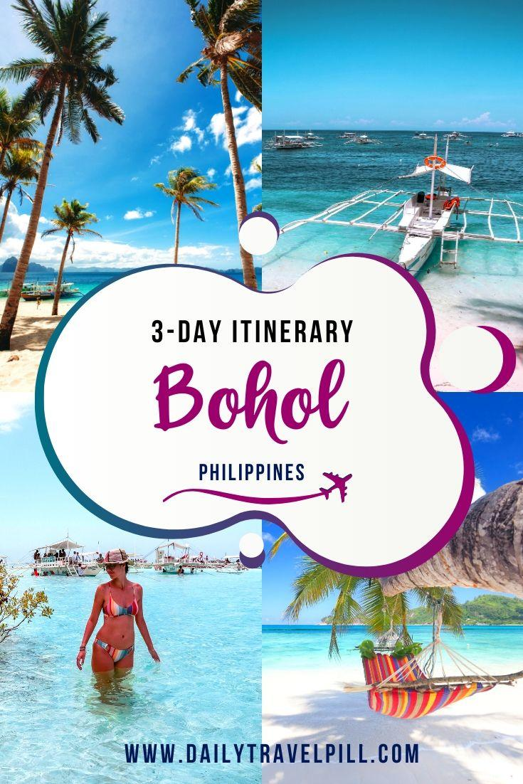 3-day itinerary for Bohol, Philippines