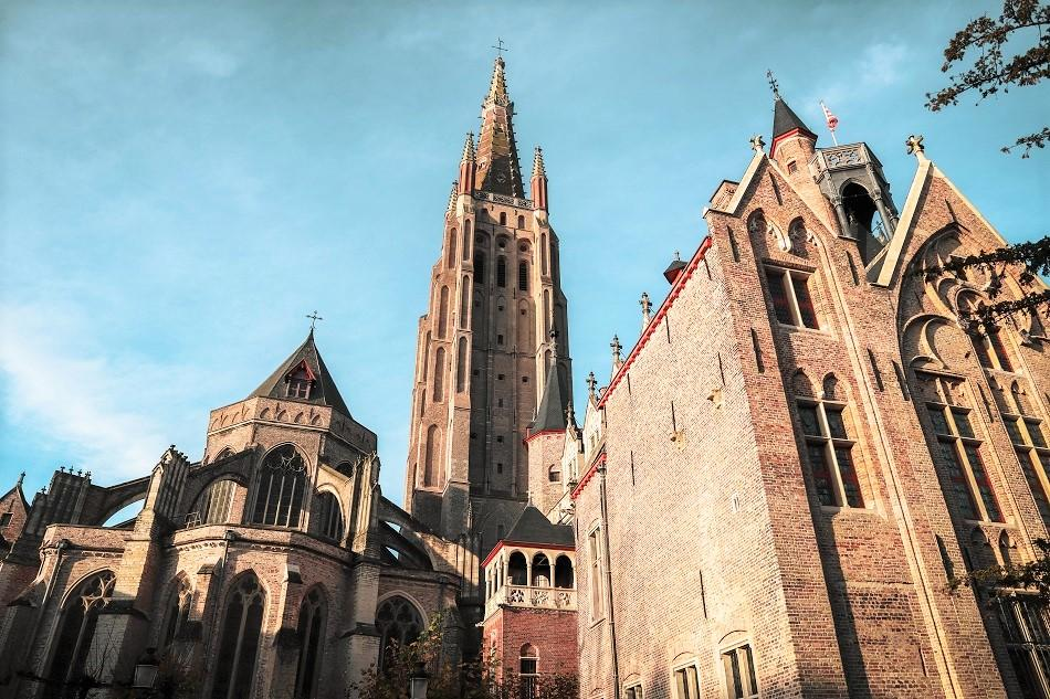 Church tower Bruges photography locations