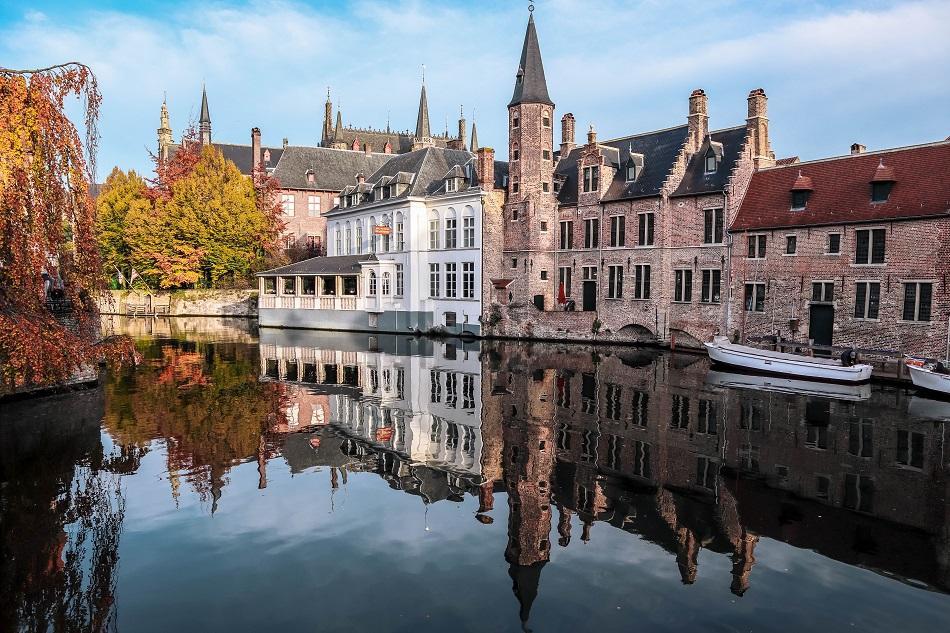 Postcard view Bruges