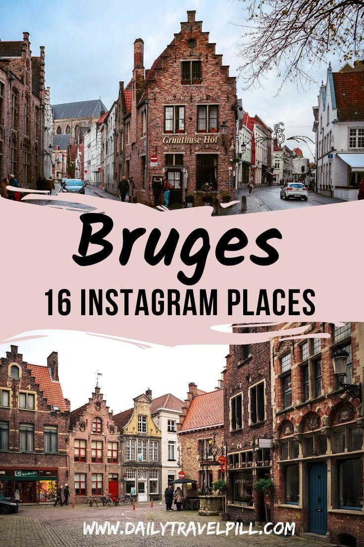 Bruges photography locations