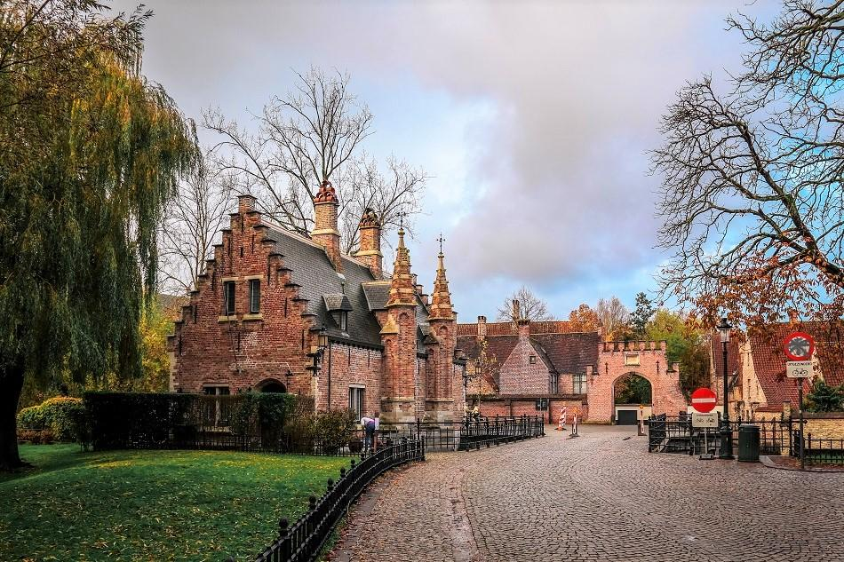 Minnewaterpark Bruges photography location