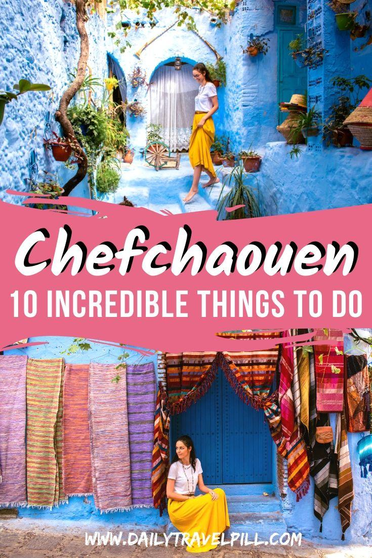 Things to do in Chefchaouen, Morocco