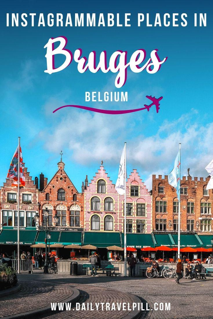 Top photography locations in Bruges, Belgium