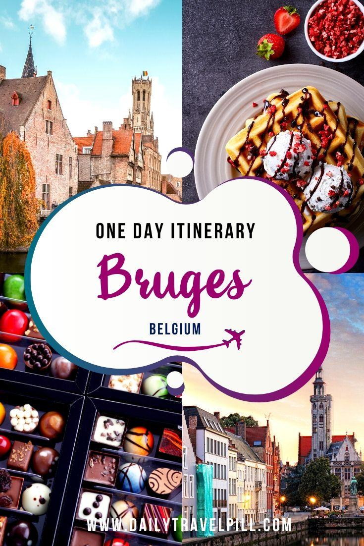 What to do in one day in Bruges - itinerary