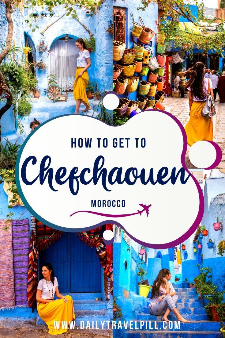 How to get to Chefchaouen - transport options