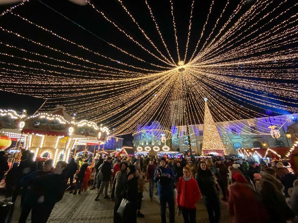 Sibiu Christmas Market Romania