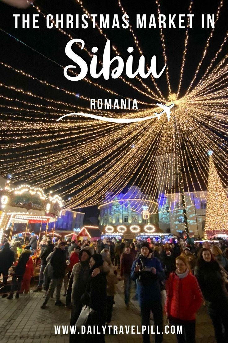 Sibiu Christmas Market, Romaia - what to expect