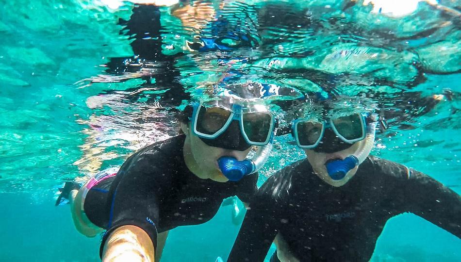 Tubod Beach Marine Sanctuary snorkeling