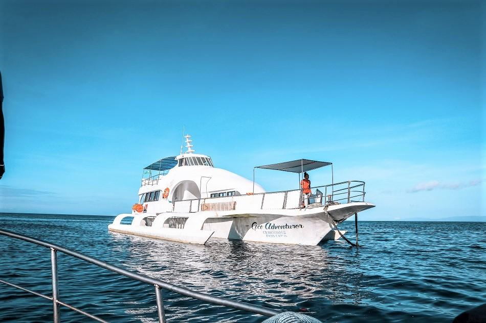 Boat to Apo Island from Coco Grove Resort