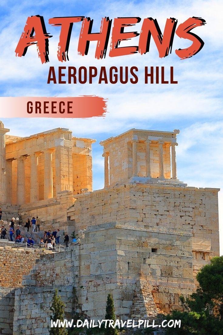 Aeropagus Hill Athens