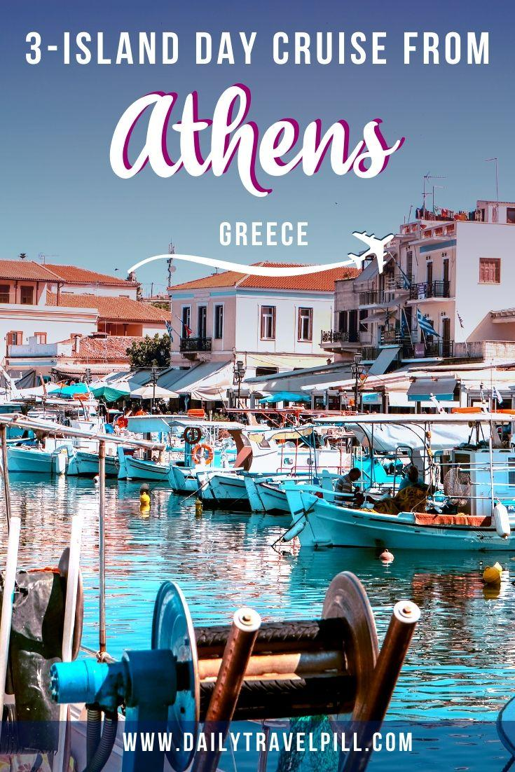 Athens day cruise to 3 islands - Aegina, Poros, and Hydra