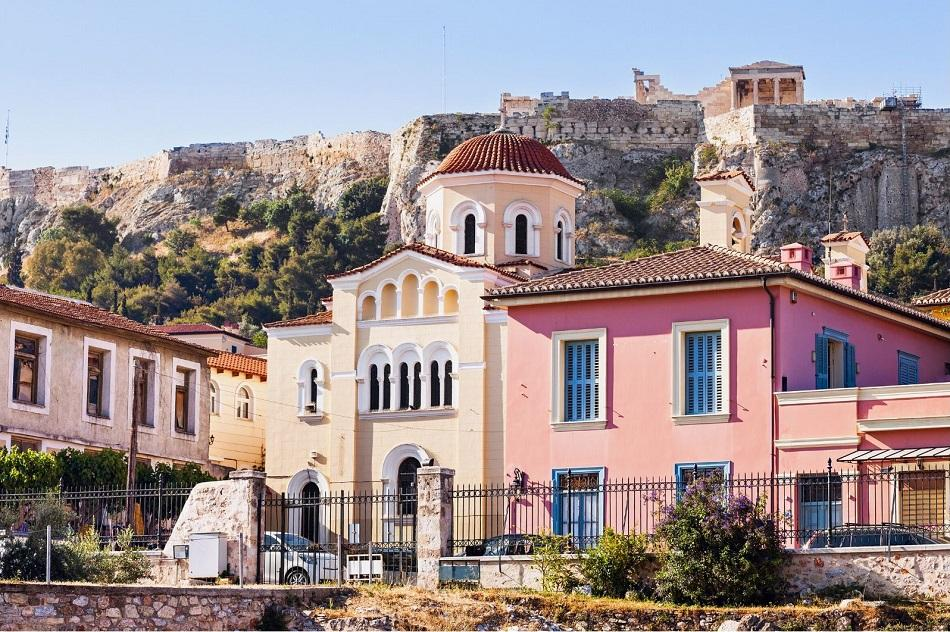 Athens Plaka district