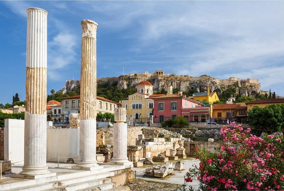 Athens Roman Forum