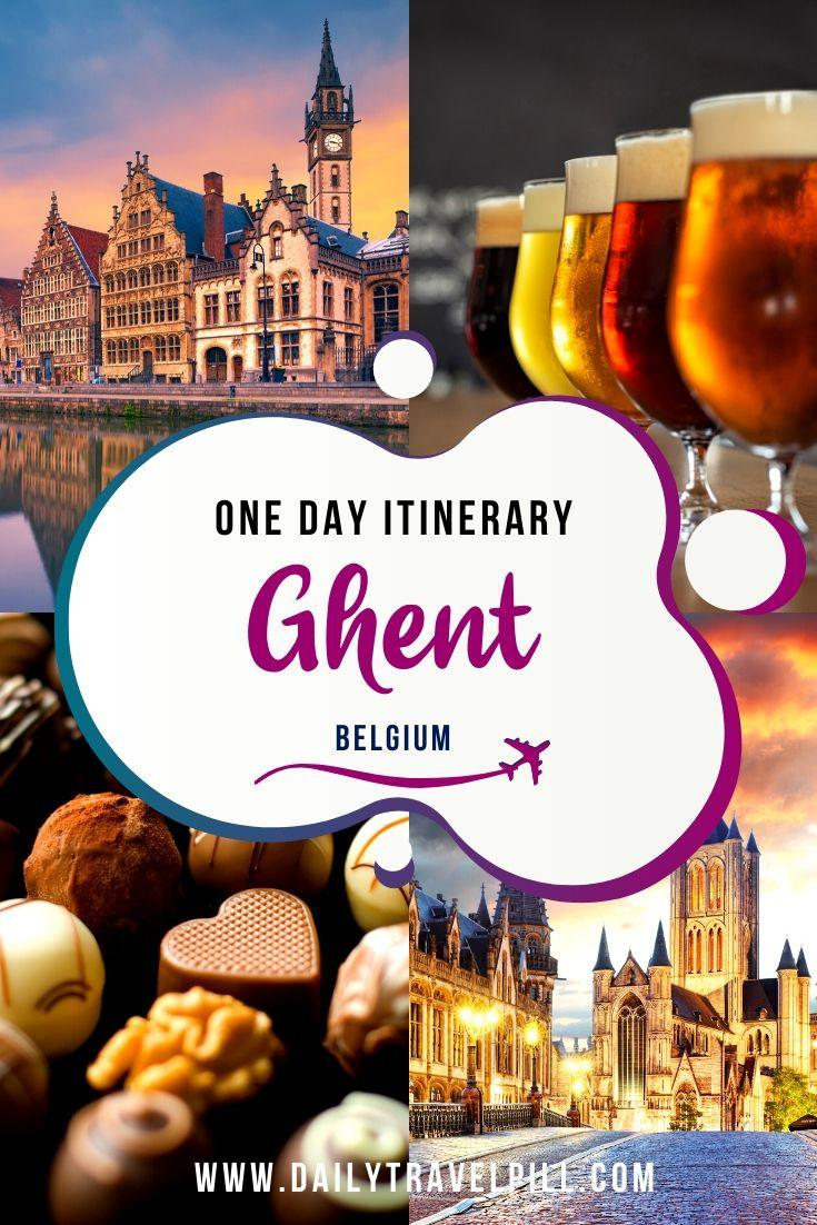 How to spend one day in Ghent - itinerary