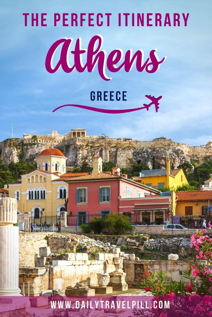 One day in Athens - the perfect itinerary