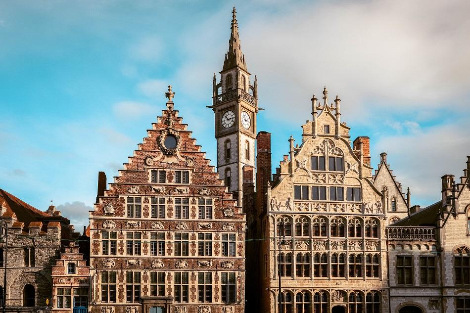 Ghent building facades