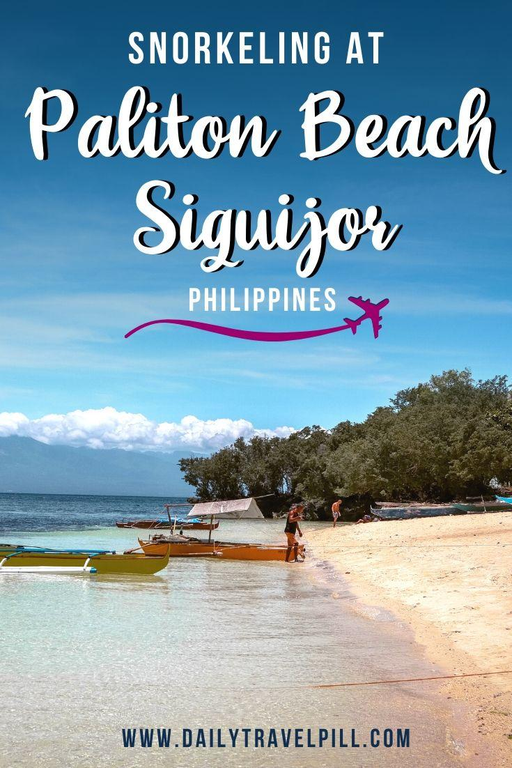Paliton Beach Siquijor Philippines