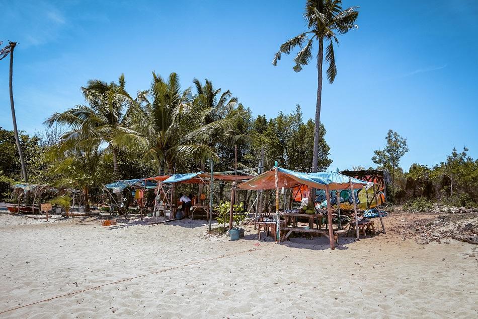 Beach bars at Paliton Beach Siquijor