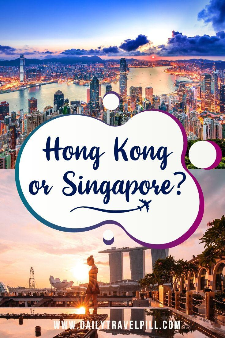 Singapore vs Hong Kong - which one to choose?