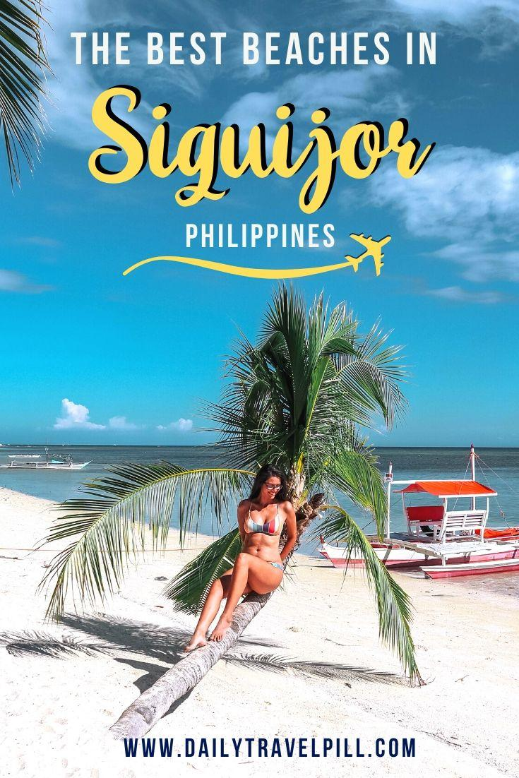 Best beaches on Siquijor Island, Philippines