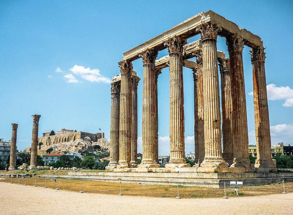 Olympian Zeus Athens columns