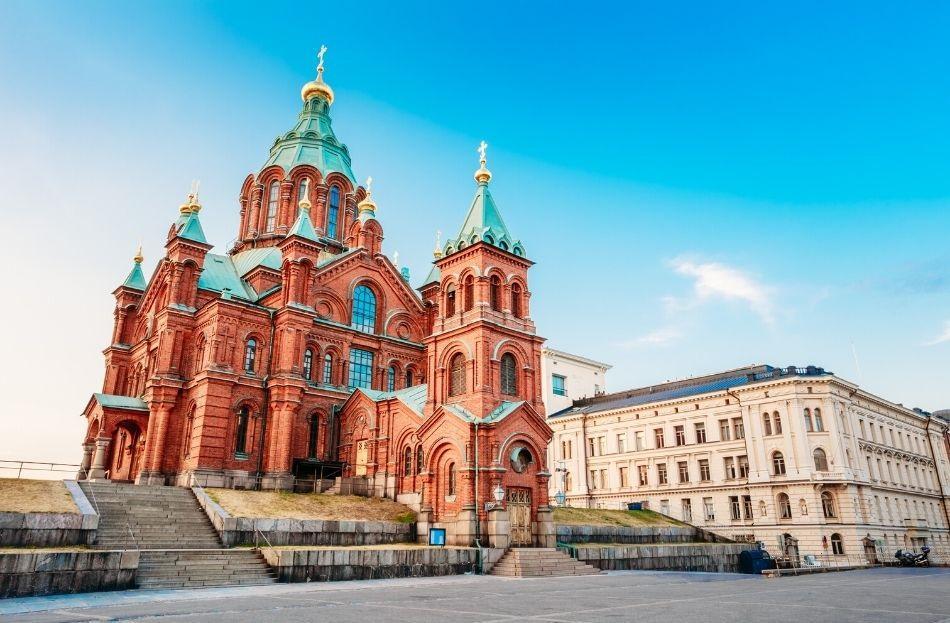 Uspenskin Cathedral, Helsinki