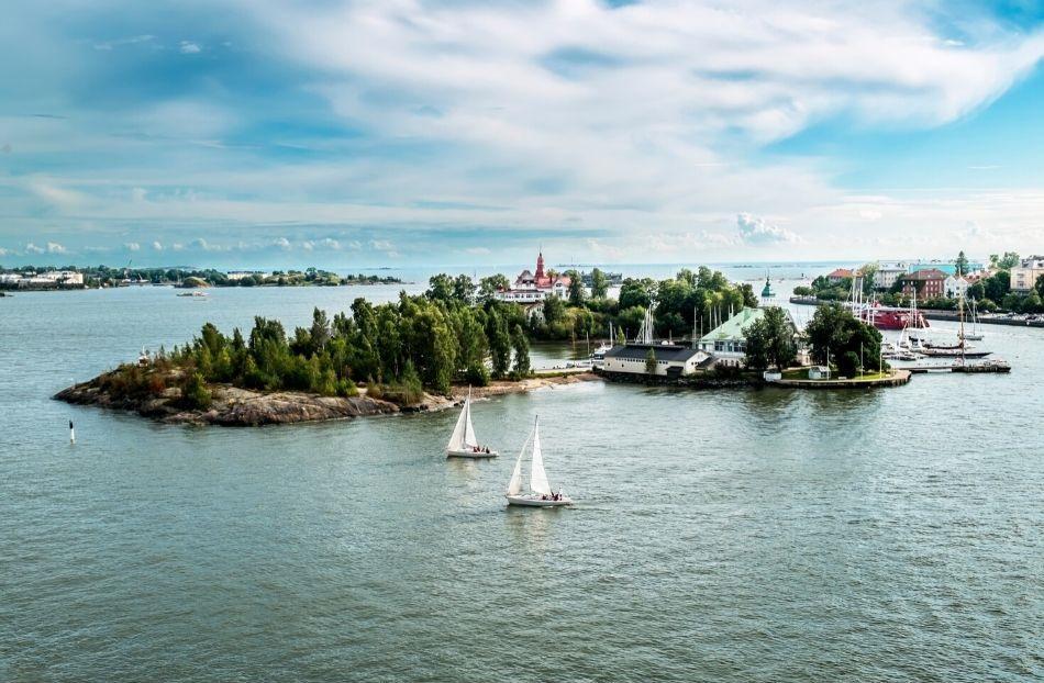 Helsinki sightseeing boat ferry