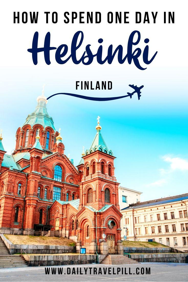 What to do in Helsinki in 24 hours - itinerary
