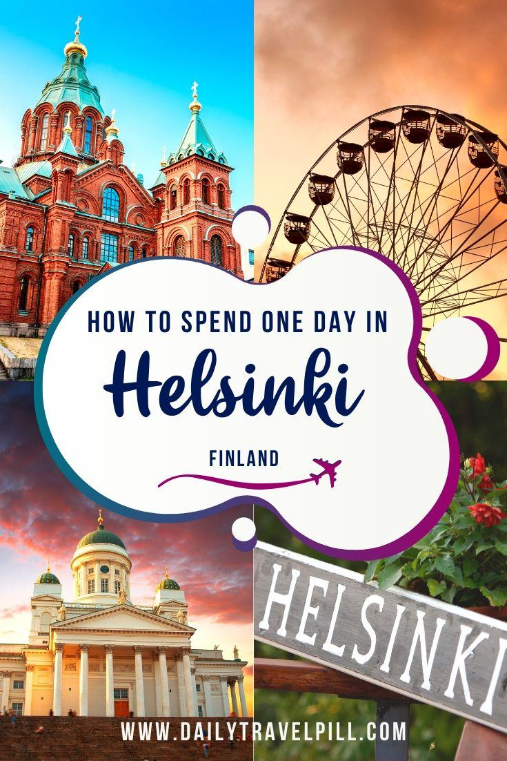 What to do in Helsinki in one day - itinerary